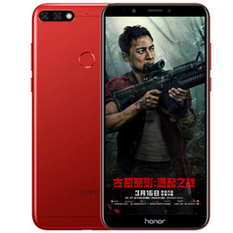 """Original Huawei Honor 7C 4GB RAM 32GB 64GB ROM 4G LTE Mobile Phone Snapdragon450 Octa Core Android 5.99"""" Full Screen 13MP Face ID Cell Phone on Sale"""