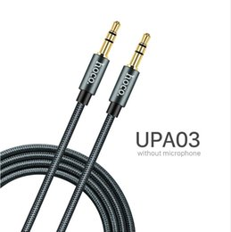 Discount hoco iphone - HOCO Aux Cable with Microphone 3.5mm Jack Male to Male Audio Cable Jack 3.5 for Car iPhone MP3   MP4 Headphone Speaker