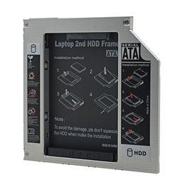 $enCountryForm.capitalKeyWord NZ - For Laptop ODD CD DVD ROM Optical Bay Aluminum Universal IDE to SATA 3.0 2nd HDD Caddy 9.5mm 2.5
