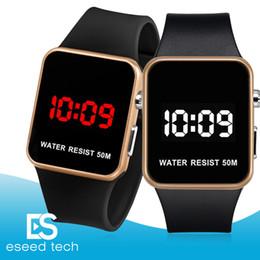 $enCountryForm.capitalKeyWord NZ - Fashion LED Watches Men Women Sports Digital wristwatches Calendar Date Silicone waterproof watch Mirror Alarm Clock Wrist Watch