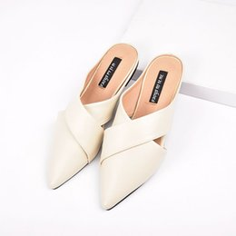 Heel popping online shopping - Single shoe Sexy tip Summer Made in China sandals leather shoes High quality European pop style size