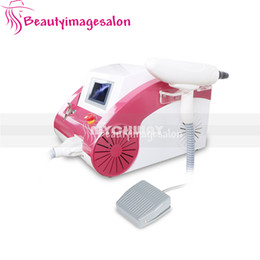Wholesale Lower Price Q Swith ND Yag Laser Age Spot Birthmark Pigment Callus Remover Tattoo Removal Skin Care Beauty Machine