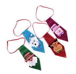 $enCountryForm.capitalKeyWord UK - 1Pc Christmas Tie Sequins Santa Claus Snowman Reindeer Bear Christmas Decoration For Home Xmas Decoration Kids Toy Ornaments