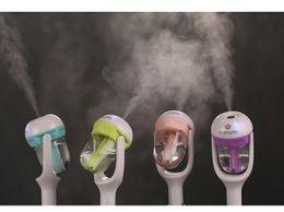 $enCountryForm.capitalKeyWord Australia - Nanum Mini Car Air Humidifier Steam Aroma Diffuser Aromatherapy Fresher Adaptor For Water Perfume Essential Oil with logo Free Shipping