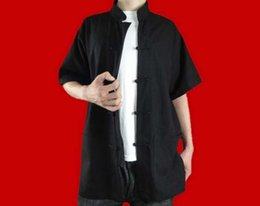 $enCountryForm.capitalKeyWord Canada - 100% Cotton Black Kung Fu Martial Arts Tai Chi Shirt Clothing XS-XL or Tailor Custom Made