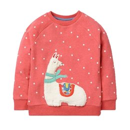 Cute 3t girl Clothing online shopping - Girls T Shirt Autumn Brand Baby Girls Full T Shirt Cute Cartoon Rabbits Cotton Shirts Children Clothing Blouse