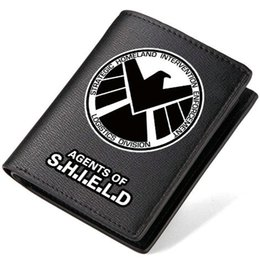 $enCountryForm.capitalKeyWord Canada - Shield wallet Agents of purse Logistics short long leather cash note case Money notecase Loose change burse bag Card holders
