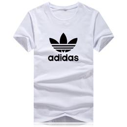 acb744221 Camisas de luxo T para Homens Mulheres o pescoço Grande Tamanho Da Marca do  logotipo da camisa de verão T Ocasional Designer de Roupas Carta Maré de ...