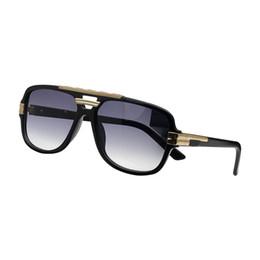 $enCountryForm.capitalKeyWord UK - Fashion Driving Sunglasses Men 2018 Top Quality Men Mirrors Oval Sunglasses Metal frame Eyewear Male Sun Glasses UV400