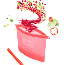 Gadgets For Free NZ - kitchen Tools Storage Bags Silicone Fresh Storage Bags Food Preservation For Home Food kitchen Organization Gadgets Free Shipping 40PC wn349