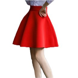 $enCountryForm.capitalKeyWord UK - XS-5XL Plus Size Sexy Skirt Women 2018 Solid Thick Tutu Skirts High Waist Flared Super Mini Skater Super Short Skirt 0804-30 S916