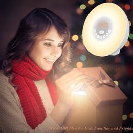 $enCountryForm.capitalKeyWord NZ - New Alarm Clock Wake-Up Light 7 Colors Night Light Radio Alarm Clocks for Kids and Bedrooms LED Display Touch Control Sunrise Alarm Clock