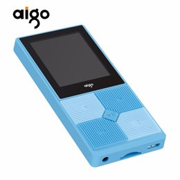"$enCountryForm.capitalKeyWord UK - Original Aigo Multi-functional MP3 Portable Rechargeable Music Player 1.8"" TFT Screen Display Audio MP3 Player with Earphone"