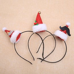 $enCountryForm.capitalKeyWord NZ - Christmas headbands children's headbands Christmas party bar party hair accessories 3 kinds of patterns baby headbands wholesale accessories