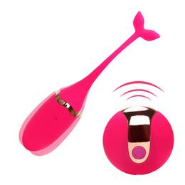 Продукты секса Аккумуляторная Вибрирующее яйцо Вибраторы с дистанционным управлением Секс-игрушки для женщин Упражнение Вагинальный шарик Кегеля G-spot Вибратор Массаж