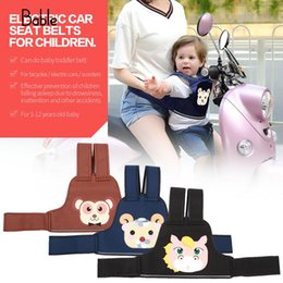 seat belt harness pads 2019 - Polyester Padding Accessories Baby Seat Belt Children'S Safety Belt Safety Harness Electric Car Seat Bicycle Insura