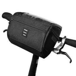 $enCountryForm.capitalKeyWord NZ - ROSWHEEL Bicycle Head Bag New Pvc Touch Screen Bavigation Bags For Bicycle Nylon Rainproof Hand Bag Bike Accessories Bicycle Bag