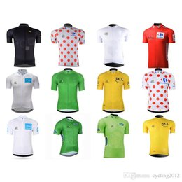 $enCountryForm.capitalKeyWord Canada - HOT Tour DE France champion Cycling jerseys Ropa Ciclismo short sleeves Mountain Racing Bike Clothing Breathable Quick dry F1506