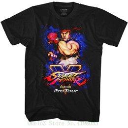 $enCountryForm.capitalKeyWord NZ - Street Fighter Video Martial Artist Arcade Game Pro Tour Ryu Adult T shirt Tee Design Style New Fashion Short Sleeve