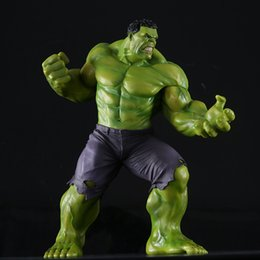 New Crazy Toys NZ - New PVC 10'' Big Marvel Avengers Hulk Action Figure Collectable Model Muscle Man Superman Crazy Toy Top Grade Gift DMX0036