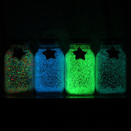 $enCountryForm.capitalKeyWord Australia - 1 bag Glow Gravel Luminous Noctilucent Sand Fish Tank Aquarium Fluorescent Particles Party Decoration DIY Glow in the Dark New