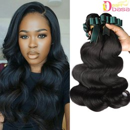 high quality body wave hair 2019 - Unprocessed Brazilian Human Hair Body Wave Extension Wholesale 100% Human Virgin Hair 3 Bundles per lot High Quality Bra