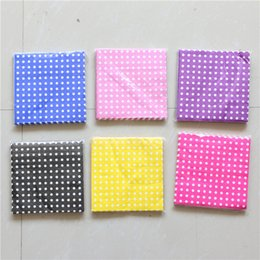Pack Supplies Australia - 8 Color Dot Kids Boys Girls Birthday Party Supplies Paper Napkins Tissues Baby Shower Favors Disposable Paper Napkins 20pcs pack