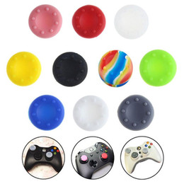 $enCountryForm.capitalKeyWord Australia - Rubber Silicone Thumb Grips Grip Cap Thumbstick Stick cover case Joystick For PS2 PS3 PS4 Xbox one Xbox 360 Controller