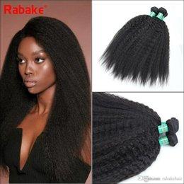 $enCountryForm.capitalKeyWord Australia - Brazilian Human Hair Weave Bundles Kinky Straight Rabake 8A Brazilian Hair Weave Coarse Yaki Unprocessed Cheap Prices Bundls