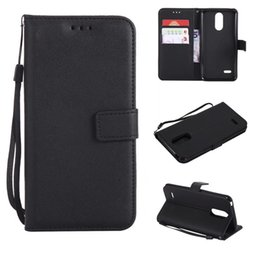 Card Inserts NZ - For LG G6 Q6 K7 K8 K10 PU Wallet Leather Case Insert Card Sheepskin Pattern Phone Case Cover For LG V20 V30 C70