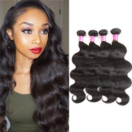 virgin mongolian straight human hair bundles 2019 - 10a Unprocessed Brazilian remy human hair Body wave & Straight Wave 8-26 inPeruvian Indian virgin Hair virgin bundles Ha
