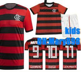 38f62bb16f4 Best quality 18 19 Flamengo kids home Soccer Jersey 2018 2019 Brasil  Flemish flamengo DIEGO CONCA GUERRERO child Football shirts