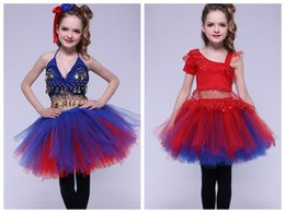 cotton embroidery suits images Australia - 2018 new children's suit   autumn and winter new two-piece Christmas, New Year's stage clothes   girls dance clothing wholesale