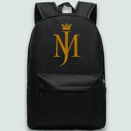 $enCountryForm.capitalKeyWord Canada - Kop crown backpack Michael Jackson day pack MJ star school bag Leisure packsack Quality rucksack Sport schoolbag Outdoor daypack