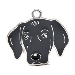 $enCountryForm.capitalKeyWord UK - New Arrival Dog Pendant Hang Charms Fit For DIY Key Chain Keyrings Pet Collar Jewelry Making HC465