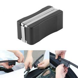 Frete grátis yentl Universal Car Ferramenta de Reparo do Limpador Kit para Blocos de Lâmina de Limpador de Pára-brisa