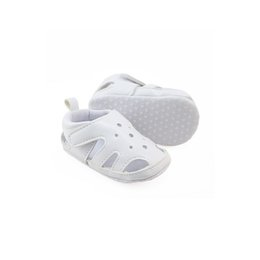 White Infant Sandals UK - 0-1 Years Old Baby Prewalker Sandal Breathable Non-slip Soft Sole Infant Toddler Casual Shoes First Walkers 11-13cm