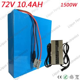 Electric 72v Battery Australia - 1500W 72V 10AH E-bike Battery pack 72V 10AH Electric Scooter Battery with 84V 2A Charger 30A BMS 72V 10AH Lithium Bike Battery