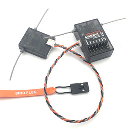 Chinese  Spektrum AR6210 DSMX Receiver 2.4Ghz 6CH Receiver with Satellite Free Shipping manufacturers