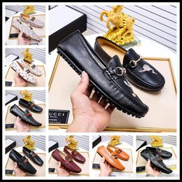 Best Leather For Shoes NZ - Best Men Shoes luxury Brand Moccasin Leather Casual Driving Oxfords Shoes Men Loafers Moccasins Italian Shoes for Men size 38-45