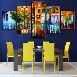 $enCountryForm.capitalKeyWord Canada - Frame Modern Home Decor Wall Art Poster 5 Piece Abstract City Landscape Living Room Canvas HD Print Painting Modular Pictures