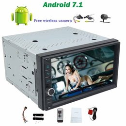 wifi speakers NZ - Android 7.1 trip computer Car radio Stereo in dash Octa-core no DVD Player Head Unit Double din 7inch Touchscreen Support Wifi OBD2