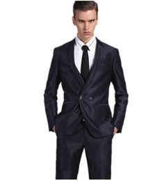 $enCountryForm.capitalKeyWord UK - New Arrival Groomsmen Shawl Lapel Groom Tuxedos Shiny Men Suits Wedding Prom Best Man Blazer( Jacket+Pants+Tie )M302