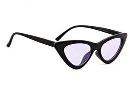 $enCountryForm.capitalKeyWord UK - 2018 New Women Popular Fashion Cat Eye Sunglasses Black Frame Bicycle Goggle Dazzle Color Sun Glasses 8 Colors Low Price Free Shipping