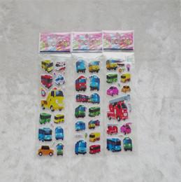 $enCountryForm.capitalKeyWord NZ - korean Style Cartoon Bus Car engineering truck Sticker for kids children children's day chirstmas gifts
