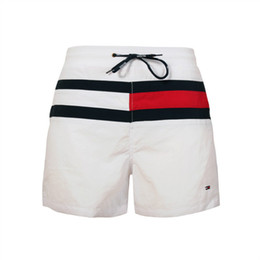 Mens Casual Beach Trunks UK - Fashion Board Shorts Mens Summer Beach Shorts PantsTop quality Swimwear Male Surf swimming Swim Quick-dry running Sport trunks beachwear