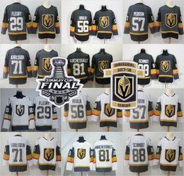 5f5d28b6b 2018 Stanley Cup Finals Vegas Golden Knights 71 William Karlsson Jersey  Nate Schmidt Jonathan Marchessault David Perron James Neal Inaugural