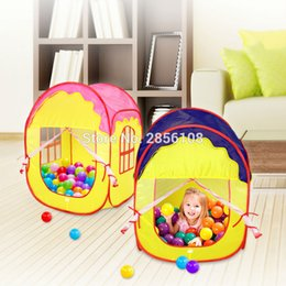 Lolely Portable Play Tents Princess Castle Childrens Indoor Outdoor Garden Folding pop up Play house of Kids Fun pink and blue & Pop Up Castle Tent Australia | New Featured Pop Up Castle Tent at ...