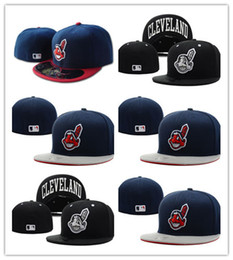 7240e323d96 Hot Cool New!! Wholesale Online Shopping Cleveland Indians Fitted Hats  Snapback Cap Men Women Basketball Hip Pop