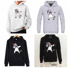 $enCountryForm.capitalKeyWord Canada - 3 Colors Unicorn Printed Hodded Hoodies Winter Sweatshirt Women Harajuku Cute Hoodies Long Sleeve Unicorn Hoodies CCA9024 10pcs